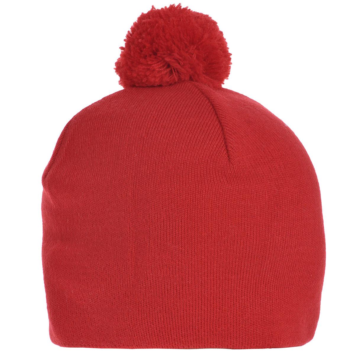 Шапка4447Мужская шапка Marhatter выполнена из шерсти и полиакрила, подкладка - из мягкого флиса. Шапка превосходно сохраняет тепло, мягкая и идеально прилегает к голове. Шапка оформлена небольшим помпоном.