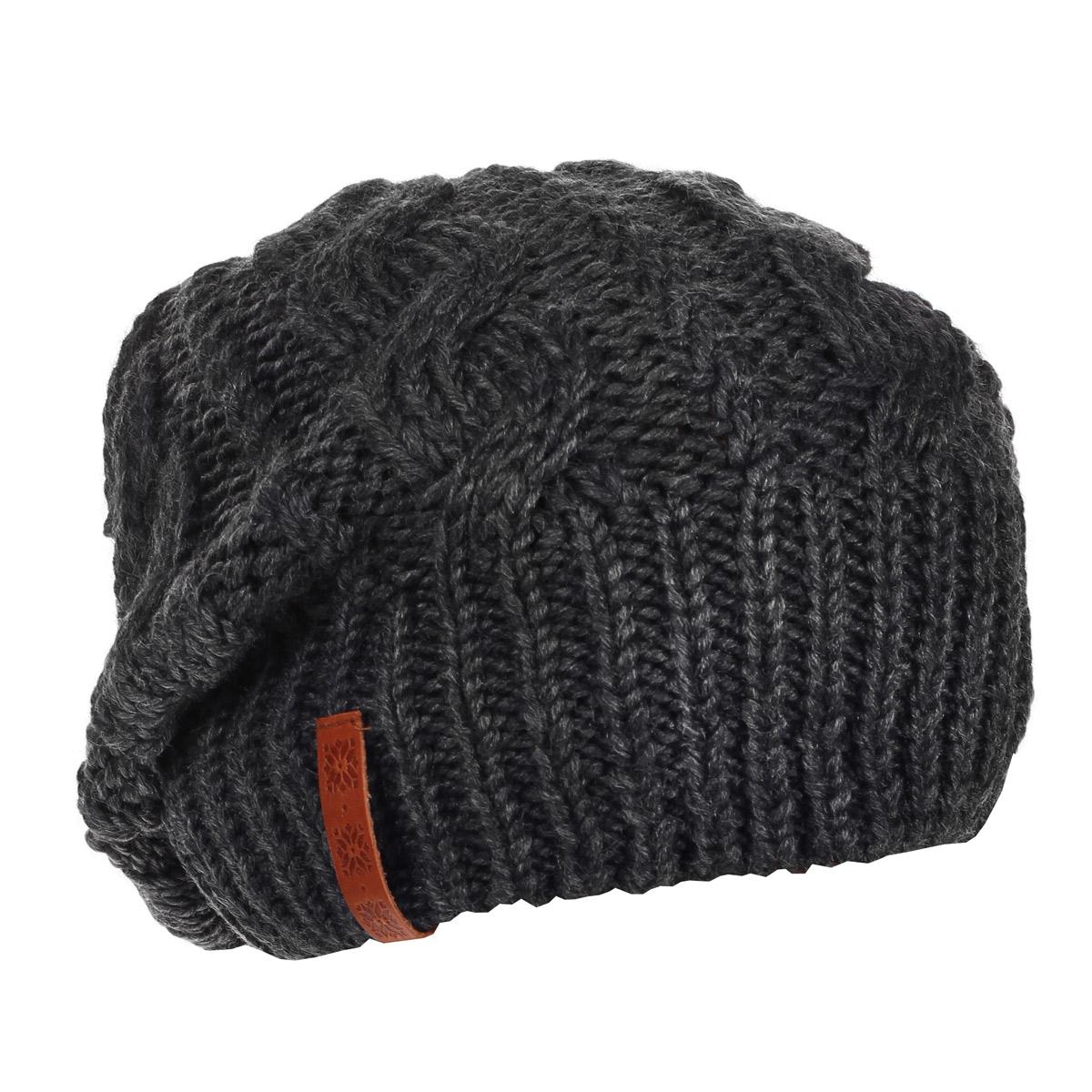 Шапка мужская. 40934093Мужская вязаная шапка Marhatter выполнена из шерсти и акрила. Шапка превосходно сохраняет тепло, мягкая и идеально прилегает к голове. Шапка оформлена вязаным узором.