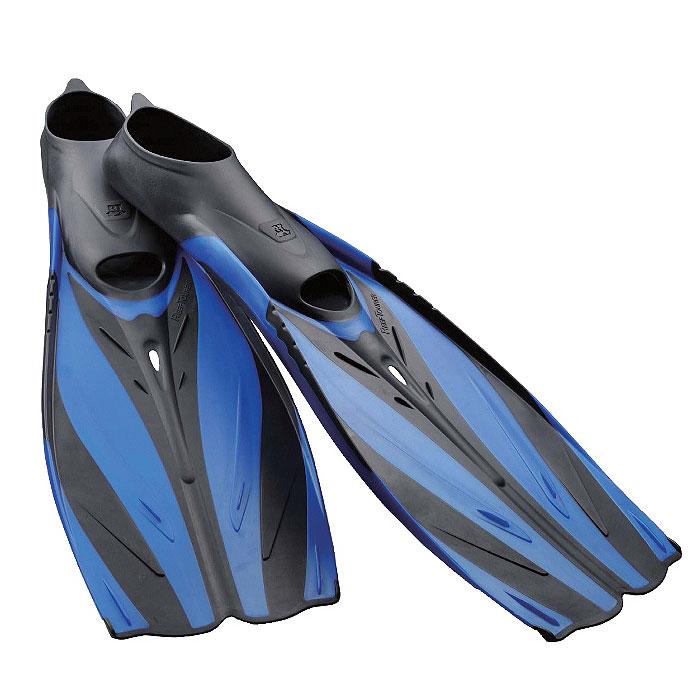 Ласты Tusa Reef Tourer с закрытой пяткой. TS RF-20TS RF-20_BLЛасты Tusa Reef Tourer отличаются тонким и легким дизайном, благодаря чему идеально подходят для сноркелинга и путешествий. При этом они обеспечивают максимально эффективную работу и комфорт. Созданные в соответствии с высокими стандартами качества компании Tusa, эти ласты имеют калошу из исключительно мягкого и износостойкого материала нового поколения - термопластического эластомера T.P.E., благодаря чему отличаются комфортной посадкой по ноге. Инновационный дизайн подводного крыла и комбинированные материалы ребер обеспечивают более быстрое движение вперед (подъемную силу) как на поверхности, так и под водой. Одеваются на голую ногу.