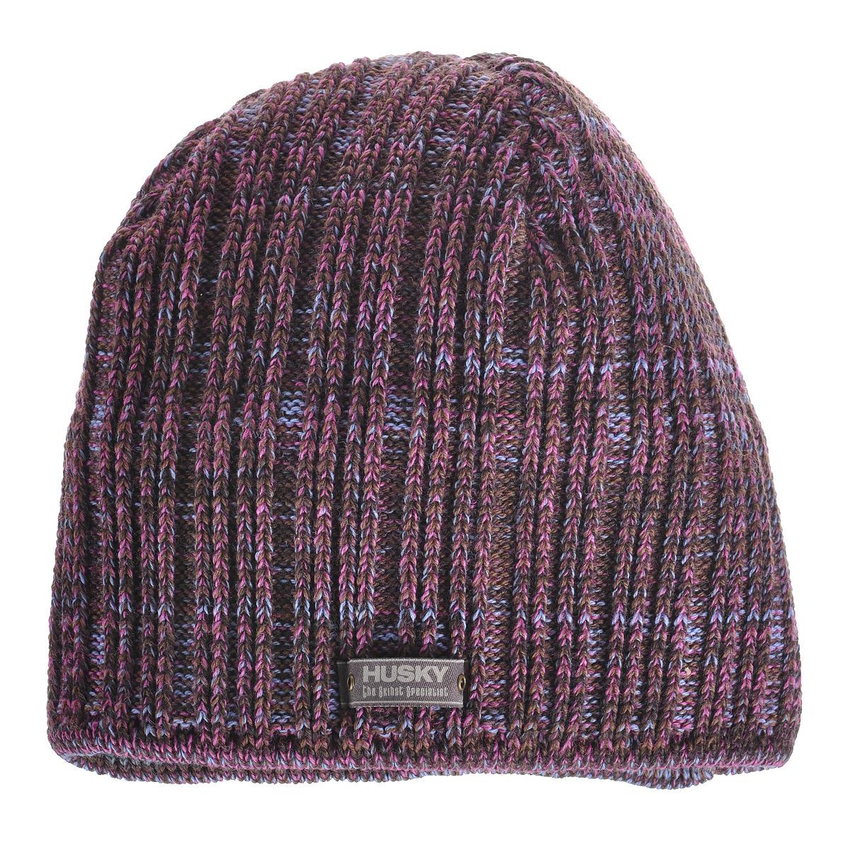 ШапкаOrionМужская шапка Husky Orion выполнена из шерсти. Шапка превосходно сохраняет тепло, не вызывает аллергии, обладает антибактериальными свойствами: предотвращает появление неприятного запаха. Шапка оформлена нашивкой с надписью Husky.