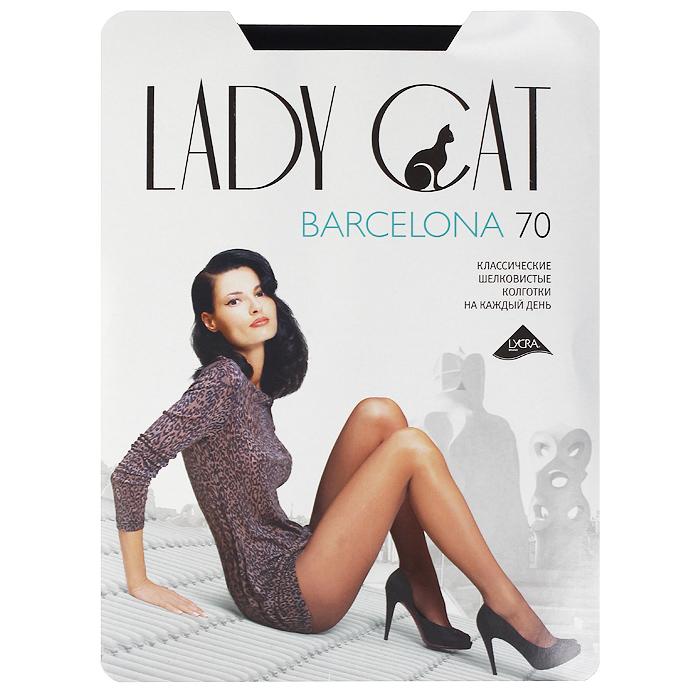 Колготки Barcelona 70Barcelona 70_NeroПлотные шелковистые колготки Грация Lady Cat Barcelona 70 - оптимальное сочетание элегантности и прочности. Лучший выбор на каждый день. Плотность: 70 den.