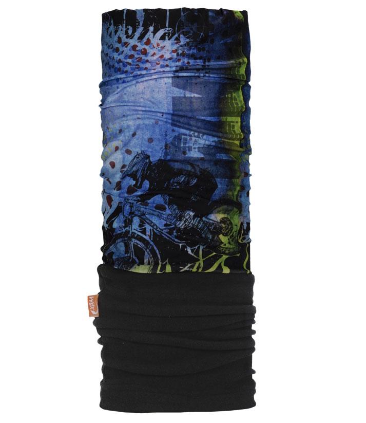 Бандана многофункциональная PolarWind25380768Многофункциональный головной убор WdX PolarWind - это очень современный предмет одежды, защитит вас от самого лютого мороза благодаря комбинации флиса и микрофибры. Его можно использовать как: шарф, шейный платок, бандану, повязку, ленту для волос, балаклаву, шапку. Подходит для занятий бегом, походов, скалолазания, езды на велосипеде, сноуборда, катания на лыжах, мотоциклах, игры в хоккей, а так же для повседневного использования. Сочетание ткани и флиса Pilhot из микроволокна гарантируют дополнительные тепло и комфорт, отведение влаги, быстрое высыхание, очень эластичны, принимают практически любую форму. Обладает антибактериальным эффектом.