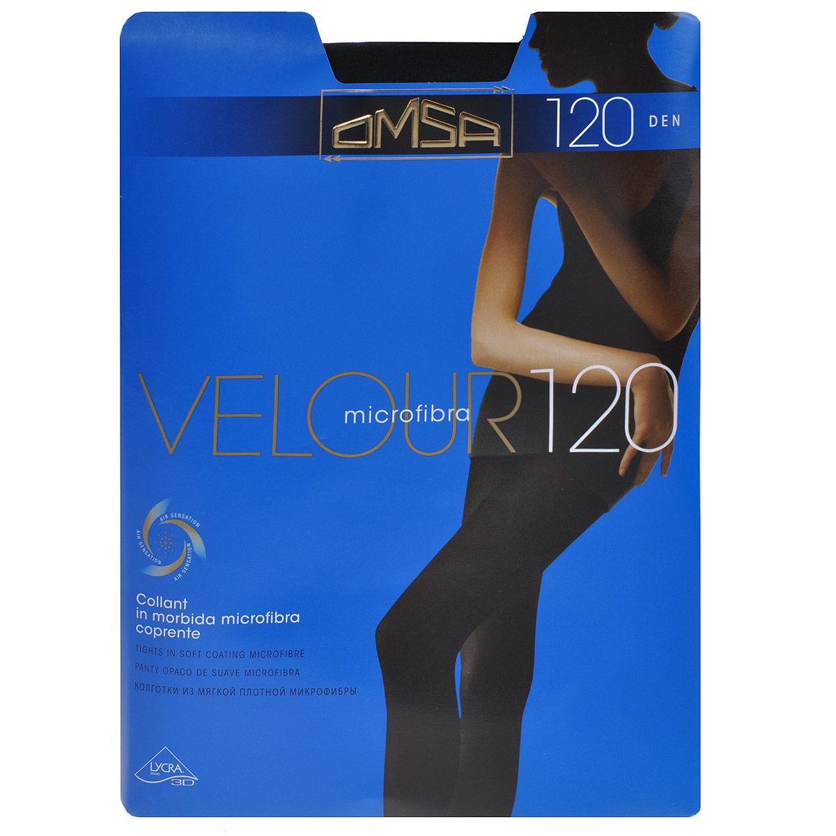 Колготки Velour 120Velour 120_NeroКолготки из плотной микрофибры без штанишек. Комфортные швы, невидимый носок и гигиеничная ластовица. Плотность: 120 ден.