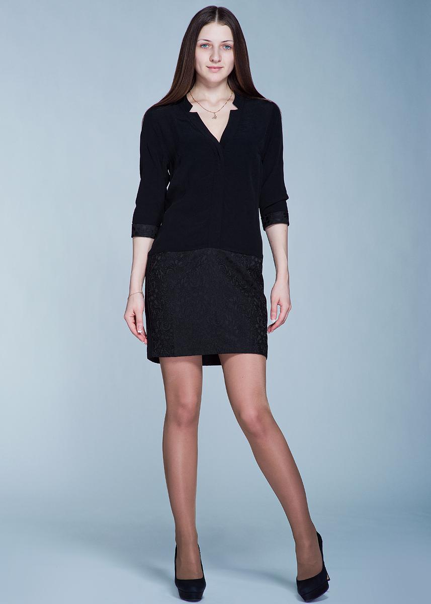 Платье RebeccaREBECCAСтильное платье MKT Studio Rebecca полуоблегающего кроя выполнено из высококачественного материала. Модель с V-образным вырезом горловины, с рукавами 1/2 сверху застегивается на пуговицы. Вискоза является волокном, произведенным из натурального материала - целлюлозы (древесины). Иногда ее называют древесный шелк. Эта ткань на ощупь мягкая и приятная, образует красивые складки. Материал очень хорошо впитывает влагу, не образует катышек со временем, не выцветает на солнце и обладает приятным шелковистым блеском. В таком платье вы будете выглядеть изящно и грациозно.