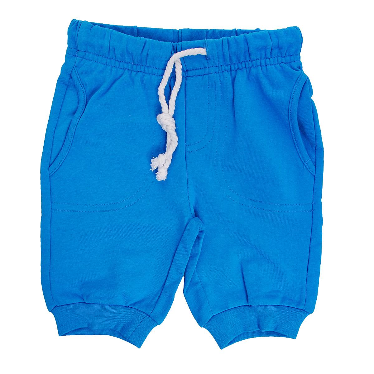 147077Яркие брюки для мальчика PlayToday Baby идеально подойдут вашему малышу и станут отличным дополнением к детскому гардеробу. Изготовленные из эластичного хлопка, они необычайно мягкие и приятные на ощупь, не сковывают движения малыша и позволяют коже дышать, не раздражают нежную кожу ребенка, обеспечивая ему наибольший комфорт. Укороченные брюки на талии имеют широкую эластичную резинку, благодаря чему они не сдавливают животик ребенка и не сползают. Также имеется имитация ширинки. Спереди модель дополнена двумя втачными кармашками. Снизу брючины дополнены широкими трикотажными манжетами. В таких брюках ваш маленький мужчина будет чувствовать себя комфортно, уютно и всегда будет в центре внимания!