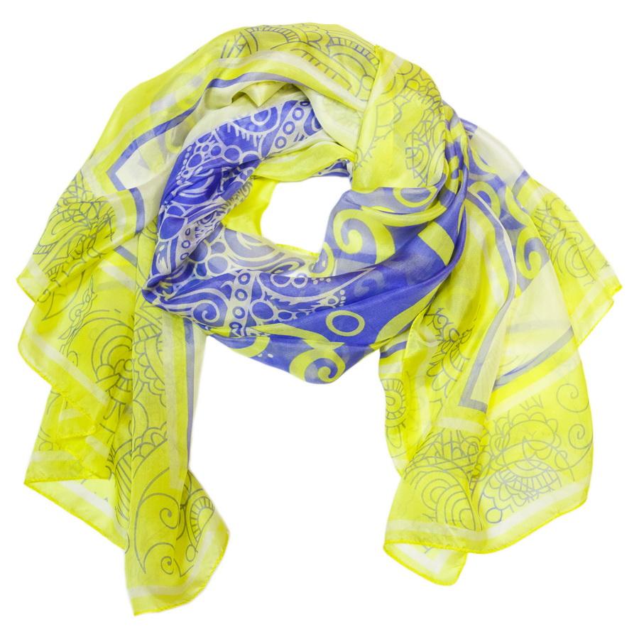 Палантин женский. 30001-0430001-S04Шелковый палантин Moltini - это идеальный способ создать романтический образ. Отлично сочетается с любым стилем, от классического до молодежного. Завязывайте палантин как объемный снуд или носите его как стильный шелковый шарф.