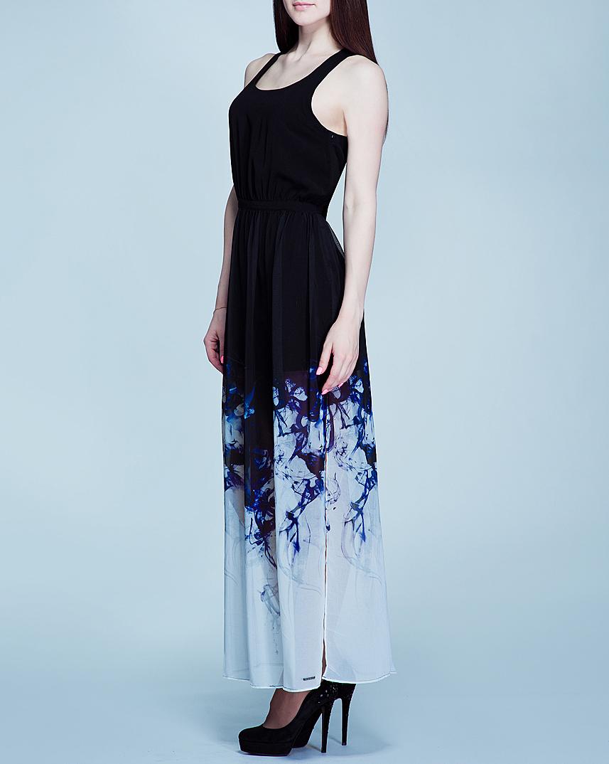 Платье. PL951287PL951287В длинном платье-сарафане вы будете выглядеть элегантно и стильно. Струящийся приталенный силуэт одарит свою хозяйку особой раскованностью и грацией. А обнаженные плечи в сочетании с длиной юбкой выглядят еще эффектнее. Модель изготовлена из полупрозрачного материала с подкладкой из полиэстера. Лямки, перекрещиваясь на спине, оставляют большую ее часть открытой. Объединяя в себе минимализм и элегантность, это платье позволит вам выглядеть изящно и чувствовать себя при этом комфортно.