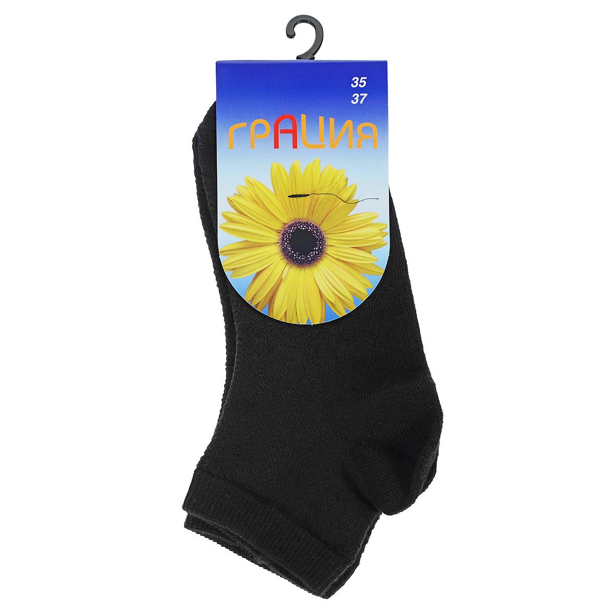 НоскиH 004-16Однотонные носочки, укороченный паголенок, передняя часть носка и паголенок в виде сеточки.