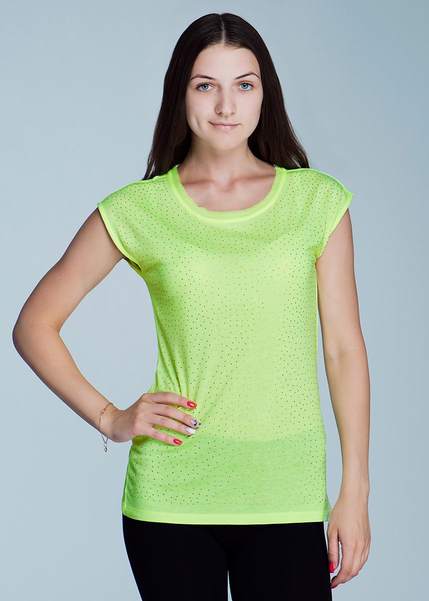 Футболка женская. Ts-111/033-424 - SelaTs-111/033-424Стильная женская футболка SELA, изготовленная из натуральной вискозы, необычайно мягкая и приятная на ощупь, не сковывает движения и позволяет коже дышать, обеспечивая наибольший комфорт. Футболка с короткими цельнокроеными рукавами и круглым вырезом горловины спереди декорирована россыпью страз. Вырез горловины оформлен мелкими шифоновыми оборками. Такая футболка - идеальный вариант для создания образа в стиле Casual, она будет дарить вам комфорт в течение всего дня и послужит замечательным дополнением к вашему гардеробу.