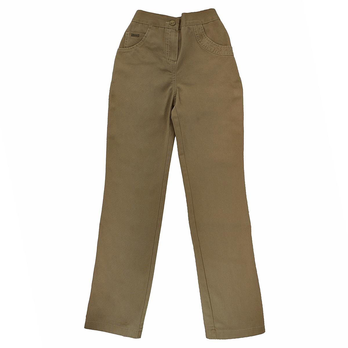 Брюки для девочки. 3С-14 Р483С-14 Р48Модные брюки для девочки Lemur идеально подойдут вашей малышке и станут отличным дополнением к детскому гардеробу. Изготовленные из натурального хлопка, они необычайно мягкие и приятные на ощупь, не сковывают движения малышки и позволяют коже дышать, не раздражают нежную кожу ребенка, обеспечивая ему наибольший комфорт. Брюки на талии имеют широкую эластичную резинку, благодаря чему они не сдавливают животик ребенка и не сползают. Спереди модель застегивается на пластиковую застежку-молнию и металлическую пуговицу, дополнена двумя втачными карманами и маленьким накладным кармашком. Сзади также имеются два накладных кармана. В таких брюках ваша маленькая принцесса будет чувствовать себя комфортно, уютно и всегда будет в центре внимания!