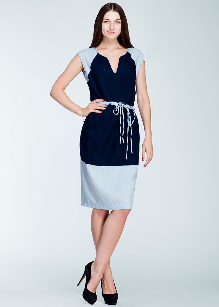Платье. 1300118913001189Стильное платье Olsen, выполненное из натуральной льняной ткани, покорит своим лаконичным дизайном. Модель прямого кроя без рукавов и с фигурным вырезом горловины выгодно подчеркнет все достоинства вашей фигуры. На спинке платье застегивается на потайную застежку-молнию, а на талии дополнено оригинальным текстильным пояском. Это модное и в тоже время комфортное платье послужит отличным дополнением к вашему гардеробу. В нем вы всегда будете чувствовать себя уютно и комфортно.