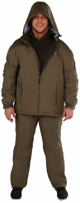 Куртка рыболовная46043-529Утепленная мужская куртка NOVA TOUR Пайк - идеальный вариант для рыбалки. Куртка выполнена из мембранной ткани и утеплена флисовой подкладкой. Швы проклеены. Мембрана не пропускает влагу внутрь, а при физической активности пропускает испарения от тела наружу. Герметизация швов специальной лентой обеспечивает полную водонепроницаемость. Куртка с воротником-стойкой и капюшоном спереди по всей длине застегивается на пластиковую застежку-молнию. Имеется внутренняя планка. Капюшон не отстегивается и дополнен скрытой резинкой на стопперах. При необходимости капюшон легко складывается и убирается под воротник. Спереди модель дополнена двумя вместительными прорезными карманами на застежке-молнии. С внутренней стороны также предусмотрен вместительный накладной карман на застежке-молнии. Рукава дополнены широкими эластичными манжетами с хлястиком на липучке. Низ модели дополнен скрытой резинкой на стопперах.
