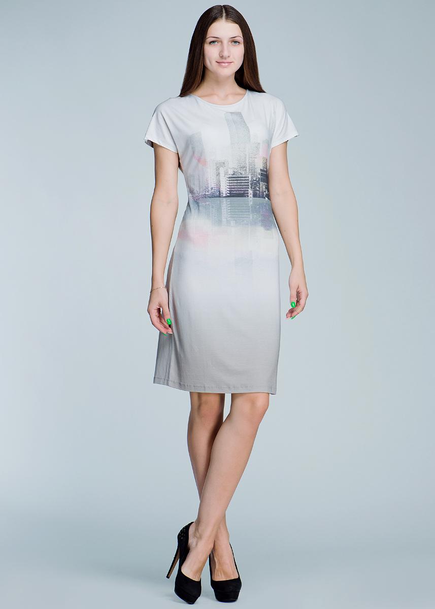 Платье. 1300118113001181_80001Стильное платье Olsen, выполненное из высококачественного материала, - находка для современной женщины, желающей выглядеть стильно и модно. Модель с короткими рукавами, круглым вырезом горловины будет отлично на вас смотреться. Платье оформлено оригинальным принтом. Такая модель, несомненно, вам понравится и послужит отличным дополнением к вашему гардеробу.