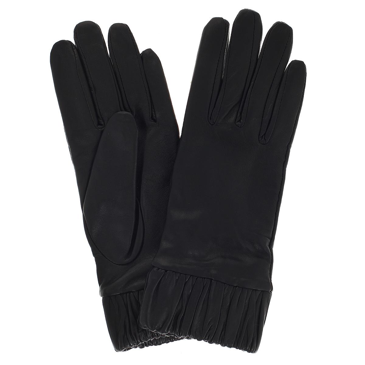 Перчатки женские. K11-OUI - Michel KatanaK11-OUIСтильные перчатки Michel Katana с шерстяной подкладкой выполнены из мягкой и приятной на ощупь натуральной кожи ягненка. Широкие манжеты собраны на резинку и оформлены драпировкой. Перчатки станут достойным элементом вашего стиля и сохранят тепло ваших рук. Это не просто модный аксессуар, но и уникальный авторский стиль, наполненный духом севера Франции.