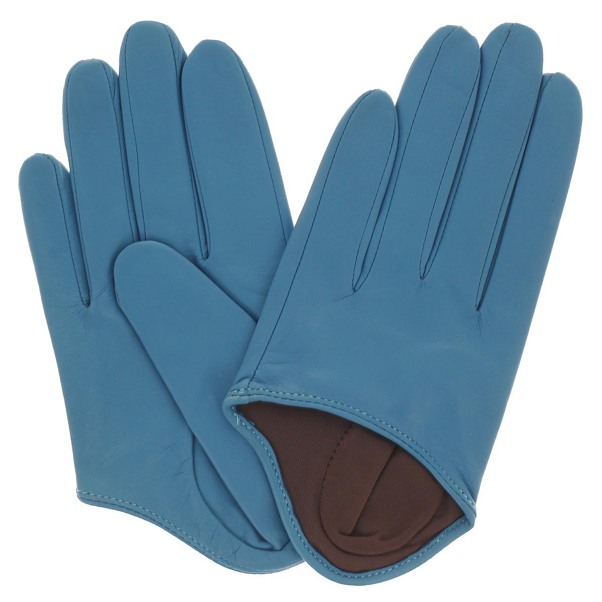 Укороченные перчаткиK81-IN1/AZURСтильные укороченные перчатки Michel Katana с шелковой подкладкой выполнены из мягкой и приятной на ощупь натуральной кожи ягненка на хлопковой подкладке. Перчатки станут достойным элементом вашего стиля и сохранят тепло ваших рук. Это не просто модный аксессуар, но и уникальный авторский стиль, наполненный духом севера Франции.