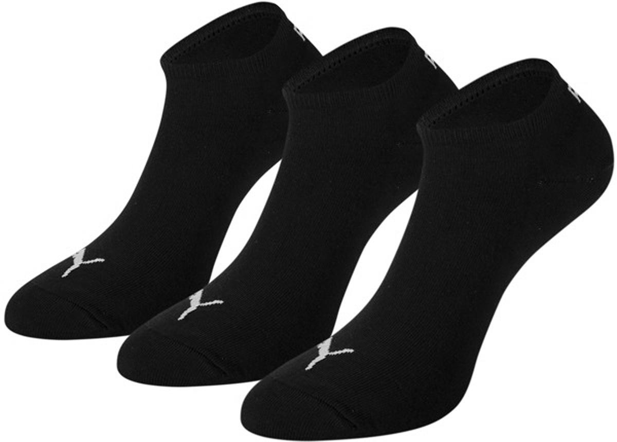 Носки унисекс Quarter Socks, 3 пары. 88096888096801Носки Puma Quarter Socks с укороченным паголенком изготовлены из хлопка с добавлением полиамида и эластана. Комфортная широкая резинка не сдавливает и комфортно облегает ногу. В комплект входят три пары носков.