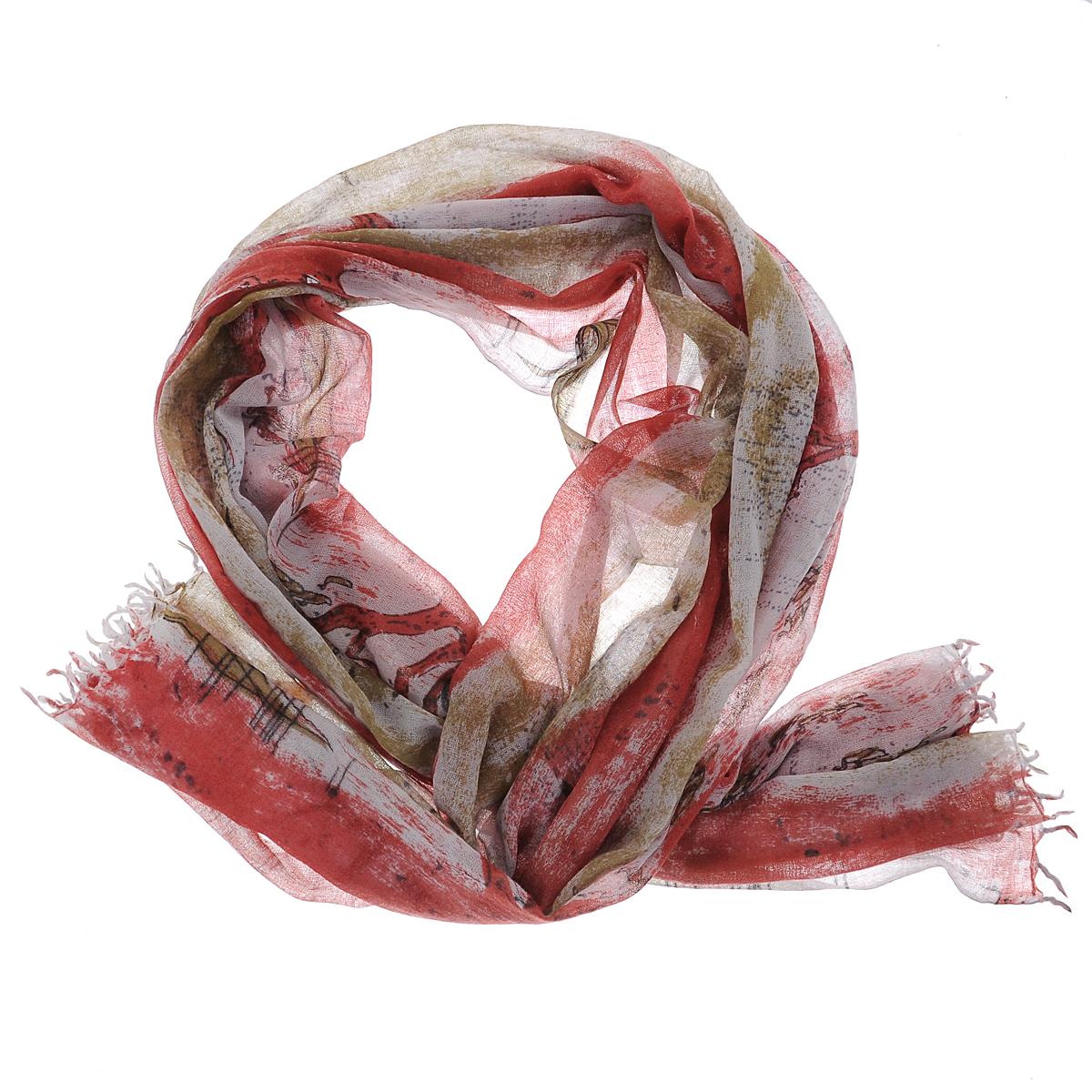 ПалантинW-BIRDONRIVER/GRСтильный палантин Michel Katana согреет в холодное время года, а также станет изысканным аксессуаром, который призван подчеркнуть вашу индивидуальность и стиль. Палантин выполнен из шерсти и декорирован орнаментом. По краям изделие оформлено кисточками.