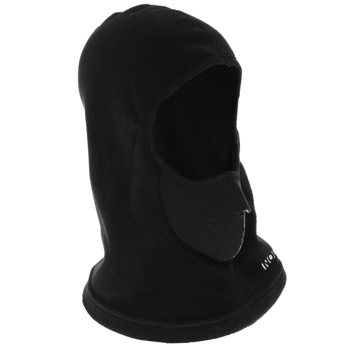 Шапка303320Шапка-маска мужская Norfin идеально подойдет для активного отдыха холодной зимой. Изготовлена модель из теплого мягкого флиса, обеспечивающего комфорт, ветронепродуваемость и отведение лишней влаги. Шапка-маска плотно облегает всю голову и оставляет открытой одну линию глаз.