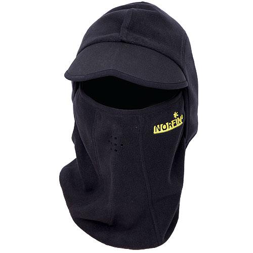 Шапка-маска мужская. 30333033Шапка-маска мужская Norfin идеально подойдет для активного отдыха холодной зимой. Изготовлена модель из теплого мягкого флиса, обеспечивающего комфорт, ветронепродуваемость и отведение лишней влаги, и дополнена специальным козырьком. Шапка-маска плотно облегает всю голову и оставляет открытой одну линию глаз. Нижняя часть предусмотрена для заправки под воротник.