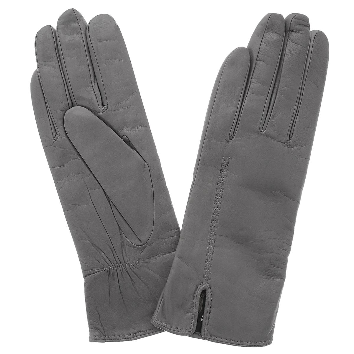 Перчатки женские. 11_ALINA11_ALINAСтильные перчатки Dali Exclusive с шерстяной подкладкой выполнены из мягкой и приятной на ощупь натуральной кожи ягненка. Лицевая сторона оформлена декоративными стежками и дополнена небольшим разрезом. Такие перчатки подчеркнут ваш стиль и неповторимость и придадут всему образу нотки женственности и элегантности.