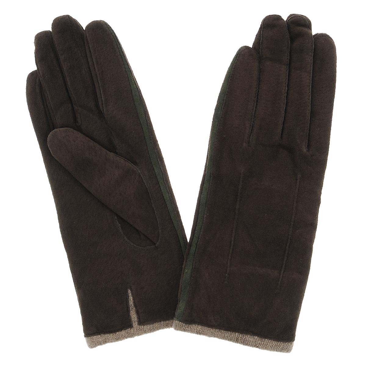 Перчатки женские. SP13_FIASP13_FIA/BR.VERDEСтильные перчатки Dali Exclusive с подкладкой из шерсти выполнены из мягкой и приятной на ощупь натуральной замши. Такие перчатки подчеркнут ваш стиль и неповторимость и придадут всему образу нотки женственности и элегантности.