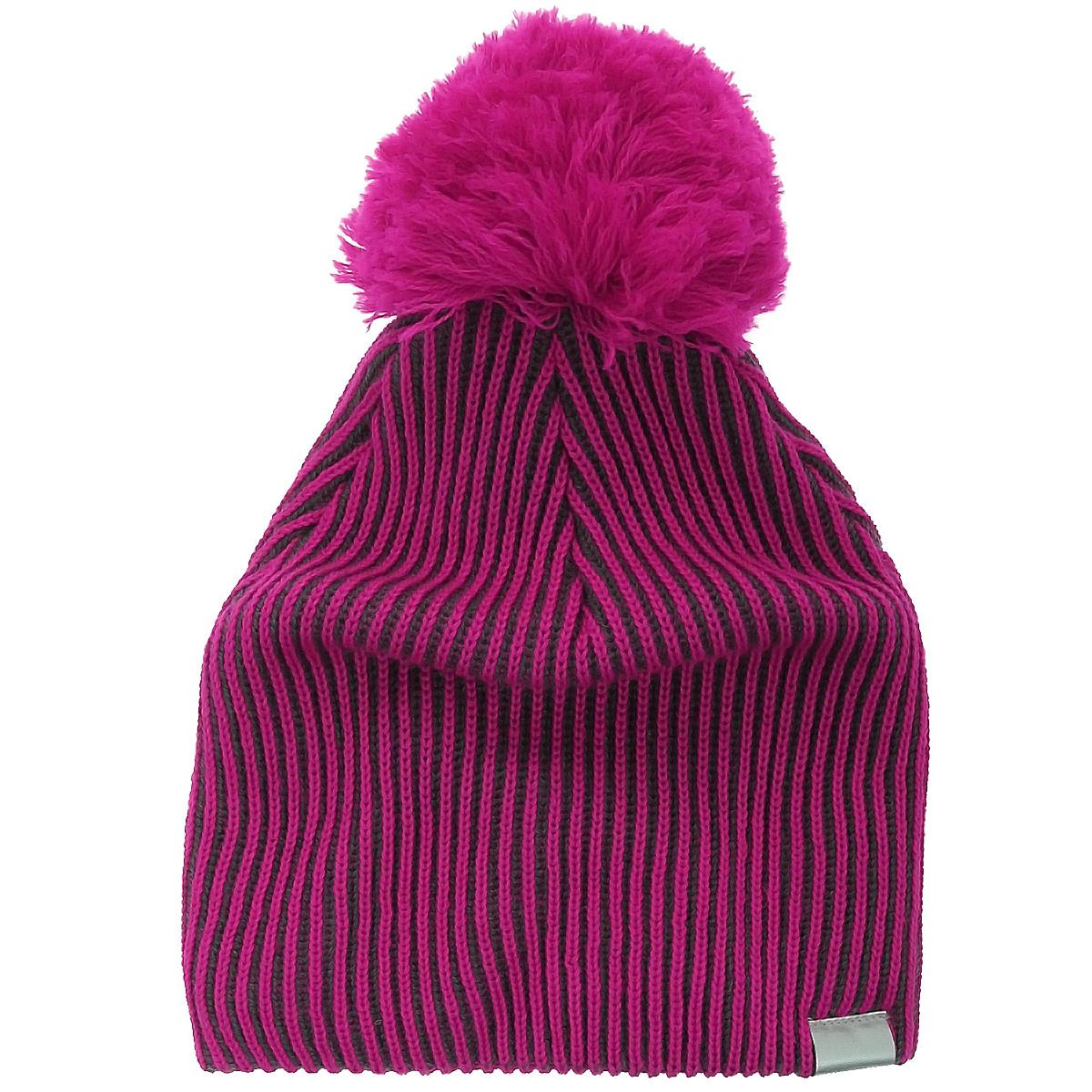 Шапка детская. 728631728631-2280Комфортная детская шапка Lassie by Reima идеально подойдет для прогулок в холодное время года, защищая ушки ребенка от ветра. Шапка с ветрозащитными вставками в области ушей, выполненная из шерстяной пряжи с добавлением акрила, максимально сохраняет тепло, она мягкая и идеально прилегает к голове. Шерсть хорошо тянется и устойчива к сминанию. Мягкая подкладка выполнена из флиса, поэтому шапка хорошо сохраняет тепло и обладает отличной гигроскопичностью (не впитывает влагу, но проводит ее). Шапка на макушке декорирована забавным помпоном, а сбоку дополнена светоотражающим элементом с логотипом бренда для безопасности в темное время суток. Оригинальный дизайн и яркая расцветка делают эту шапку модным и стильным предметом детского гардероба. В ней ваш ребенок будет чувствовать себя уютно и комфортно и всегда будет в центре внимания! Уважаемые клиенты! Размер, доступный для заказа, является обхватом головы ребенка.