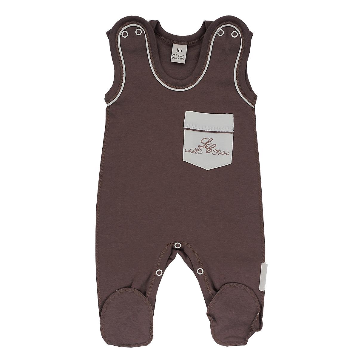 20-2Ползунки с грудкой для мальчика Lucky Child - очень удобный и практичный вид одежды для малышей. Они отлично сочетаются с футболками и кофточками. Ползунки выполнены из натурального хлопка, благодаря чему они необычайно мягкие и приятные на ощупь, не раздражают нежную кожу ребенка и хорошо вентилируются, а эластичные швы приятны телу малыша и не препятствуют его движениям. Ползунки с закрытыми ножками выполнены швами наружу и подходят для ношения с подгузником и без него. Кнопки на плечах и между ножек помогают легко и без труда переодеть кроху или поменять подгузник в течение дня. Спереди они дополнены накладным кармашком, оформленным вышивкой. Ползунки с грудкой полностью соответствуют особенностям жизни малыша в ранний период, не стесняя и не ограничивая его в движениях!