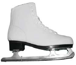 Коньки фигурные. PW-215PW-215Высокий классический ботинок идеально подойдет для любительского катания. Модель снабжена системой быстрой шнуровки и поддержкой голеностопа. Верх ботинка выполнен из высококачественной искусственной кожи, подошва - твердый пластик. Лезвие изготовлено из нержавеющей стали со специальным покрытием, придающим дополнительную прочность.