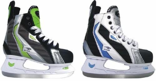 Коньки хоккейные. PW-216AEPW-216AEХоккейные коньки торговой марки Action предназначены для игры в хоккей с шайбой или в хоккей с мячом. Наружная конструкция конька выполнена из нейлона. Мыс из полиуретана и ПВХ. Анатомический ботинок. Носок ботинка выполнен из пластика. Удобный суппорт голеностопа. Лезвие изготовлено из нержавеющей стали со специальным покрытием, придающим дополнительную прочность. Предназначены для любительского катания. Яркий и необычный дизайн поможет вам выглядеть стильно и современно даже на катке!