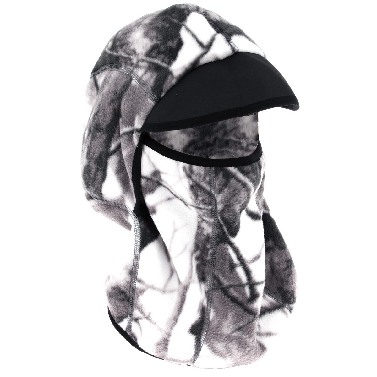 Шапка752-WТеплая шапка-маска Norfin - отличная модель для холодной погоды. Это стильная и износостойкая шапка выполнена из флиса и оформлена вышитым логотипом бренда. Также есть не большой козырек над глазами.