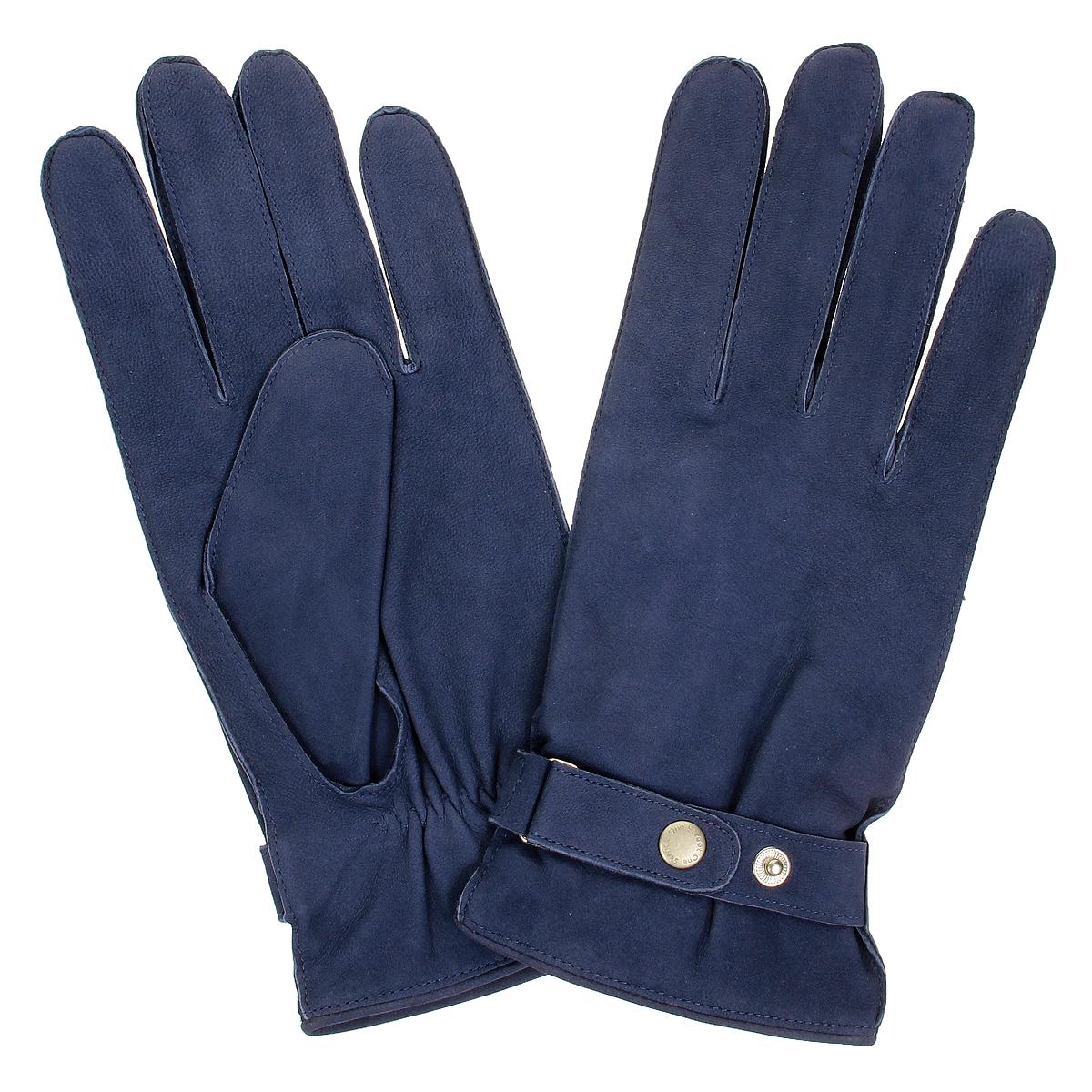 Перчатки мужские. 13013-61013013-610/43Стильные мужские перчатки Baggini не только защитят ваши руки от холода, но и станут великолепным украшением. Перчатки выполнены из чрезвычайно мягкой и приятной на ощупь натуральной кожи на подкладке из акриловой пряжи. С внешней стороны перчатки дополнены хлястиком на кнопках, регулирующим ширину. В настоящее время перчатки являются неотъемлемой принадлежностью одежды. Перчатки станут завершающим и подчеркивающим элементом вашего стиля и неповторимости.