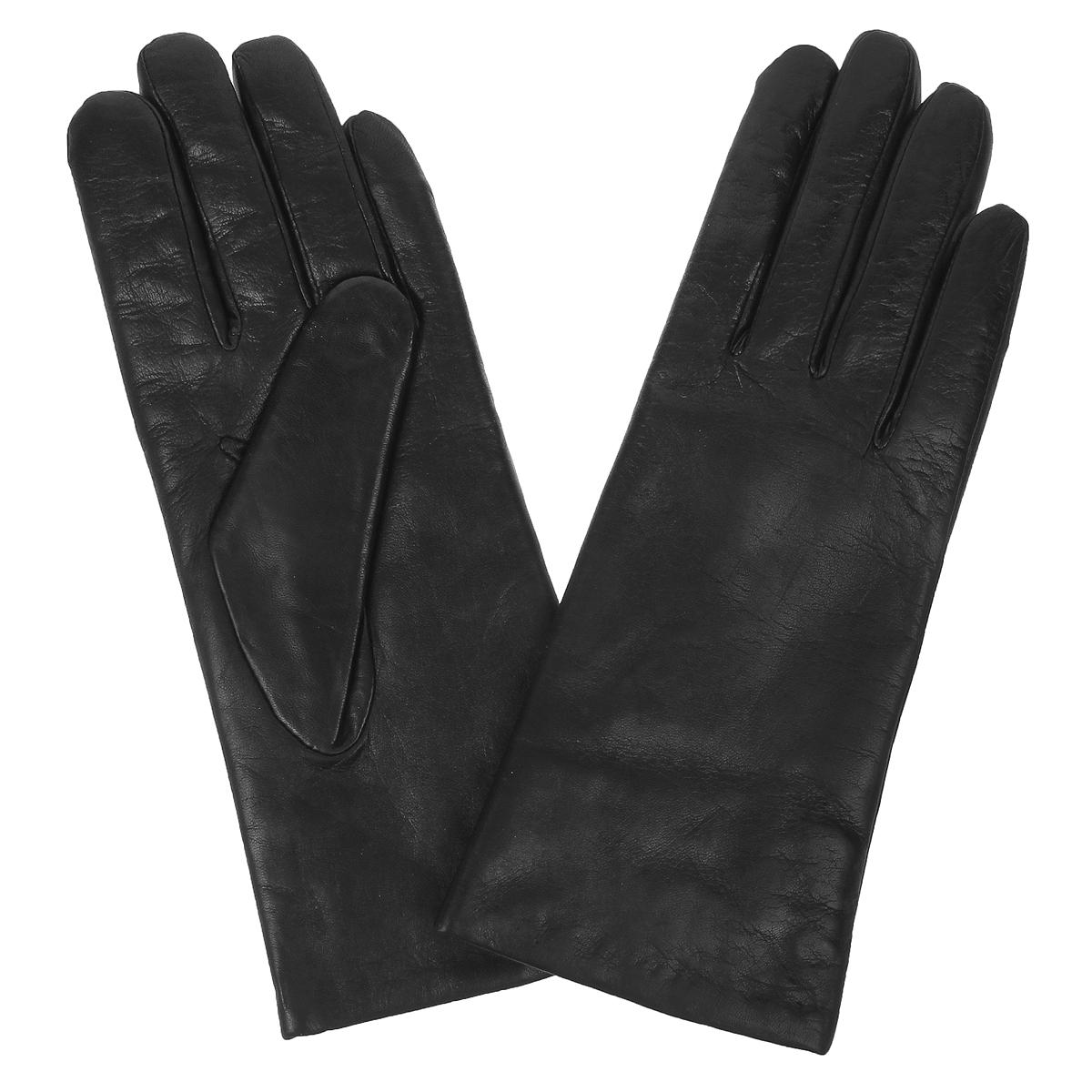 Перчатки женские. F9704F9704Стильные женские перчатки Baggini не только защитят ваши руки от холода, но и станут великолепным украшением. Перчатки выполнены из чрезвычайно мягкой и приятной на ощупь натуральной кожи ягненка на подкладке из меха ягненка. В настоящее время перчатки являются неотъемлемой принадлежностью одежды, вместе с этим аксессуаром вы обретаете женственность и элегантность. Перчатки станут завершающим и подчеркивающим элементом вашего стиля и неповторимости.