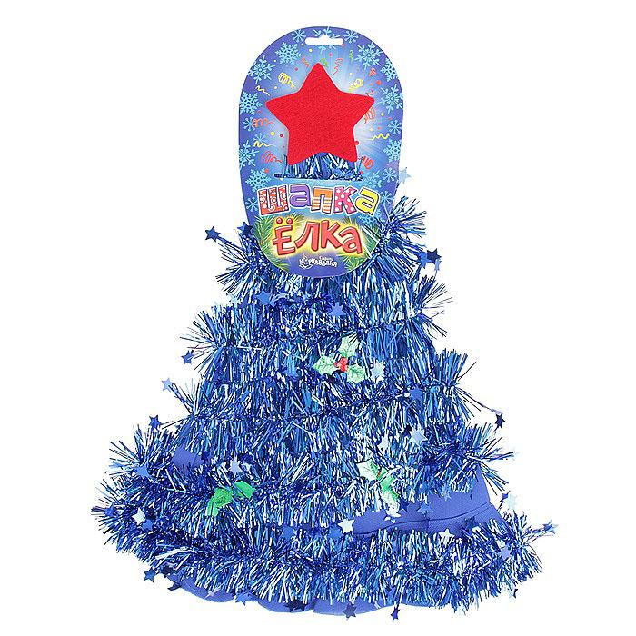 Карнавальная шляпа Sima-land Елочка305792Карнавальная шляпа Sima-land Елочка выполнена из текстиля в виде елочки со звездой на макушке. Шляпа имеет поля и декорирована мишурой с листочками и звездочками. Если у вас намечается веселая вечеринка или маскарад, то такая шляпа легко поможет создать праздничный наряд. Внесите нотку задора и веселья в ваш праздник. Веселое настроение и масса положительных эмоций вам будут обеспечены!