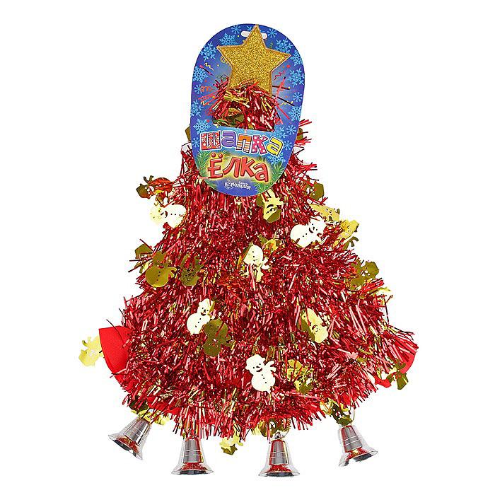Карнавальная шляпа Sima-land Елочка со снеговиками305794Карнавальная шляпа Sima-land Елочка со снеговиками выполнена из текстиля в виде елочки со звездой на макушке. Шляпа имеет поля и декорирована мишурой со снеговиками. Если у вас намечается веселая вечеринка или маскарад, то такая шляпа легко поможет создать праздничный наряд. Внесите нотку задора и веселья в ваш праздник. Веселое настроение и масса положительных эмоций вам будут обеспечены!