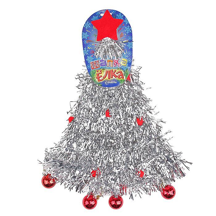 Карнавальный костюм305796Карнавальная шляпа Sima-land Елочка с шарами выполнена из текстиля в виде елочки с пластиковыми и текстильными шарами и звездой на макушке. Шляпа имеет поля и декорирована мишурой. Если у вас намечается веселая вечеринка или маскарад, то такая шляпа легко поможет создать праздничный наряд. Внесите нотку задора и веселья в ваш праздник. Веселое настроение и масса положительных эмоций вам будут обеспечены!