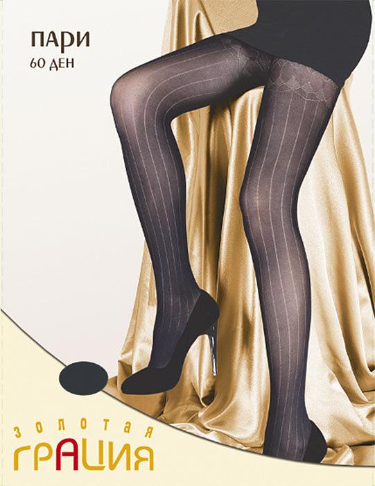 Колготки фантазийные Пари 60Пари 60_моккоФантазийные колготки с очень стильным геометрическим рисунком, визуально удлиняющим ноги. Имитация чулка. Хлопковая ластовица и плоские швы обеспечивают максимальный комфорт. Плотность: 60 ден.