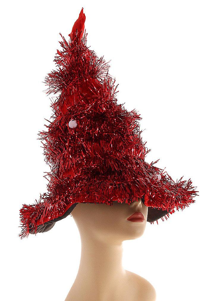Карнавальный костюм327160Карнавальная шляпа Sima-land Елочка выполнена из текстиля в виде елочки с шарами и звездой на макушке. Шляпа имеет поля и декорирована мишурой. Если у вас намечается веселая вечеринка или маскарад, то такая шляпа легко поможет создать праздничный наряд. Внесите нотку задора и веселья в ваш праздник. Веселое настроение и масса положительных эмоций вам будут обеспечены!