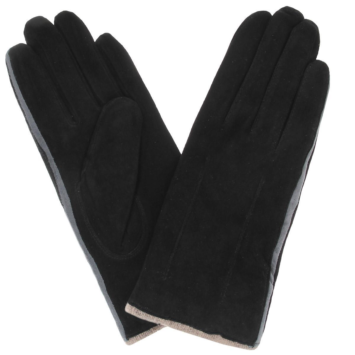 ПерчаткиSP13_FIA/BR.VERDEСтильные перчатки Dali Exclusive с подкладкой из шерсти выполнены из мягкой и приятной на ощупь натуральной замши. Такие перчатки подчеркнут ваш стиль и неповторимость и придадут всему образу нотки женственности и элегантности.