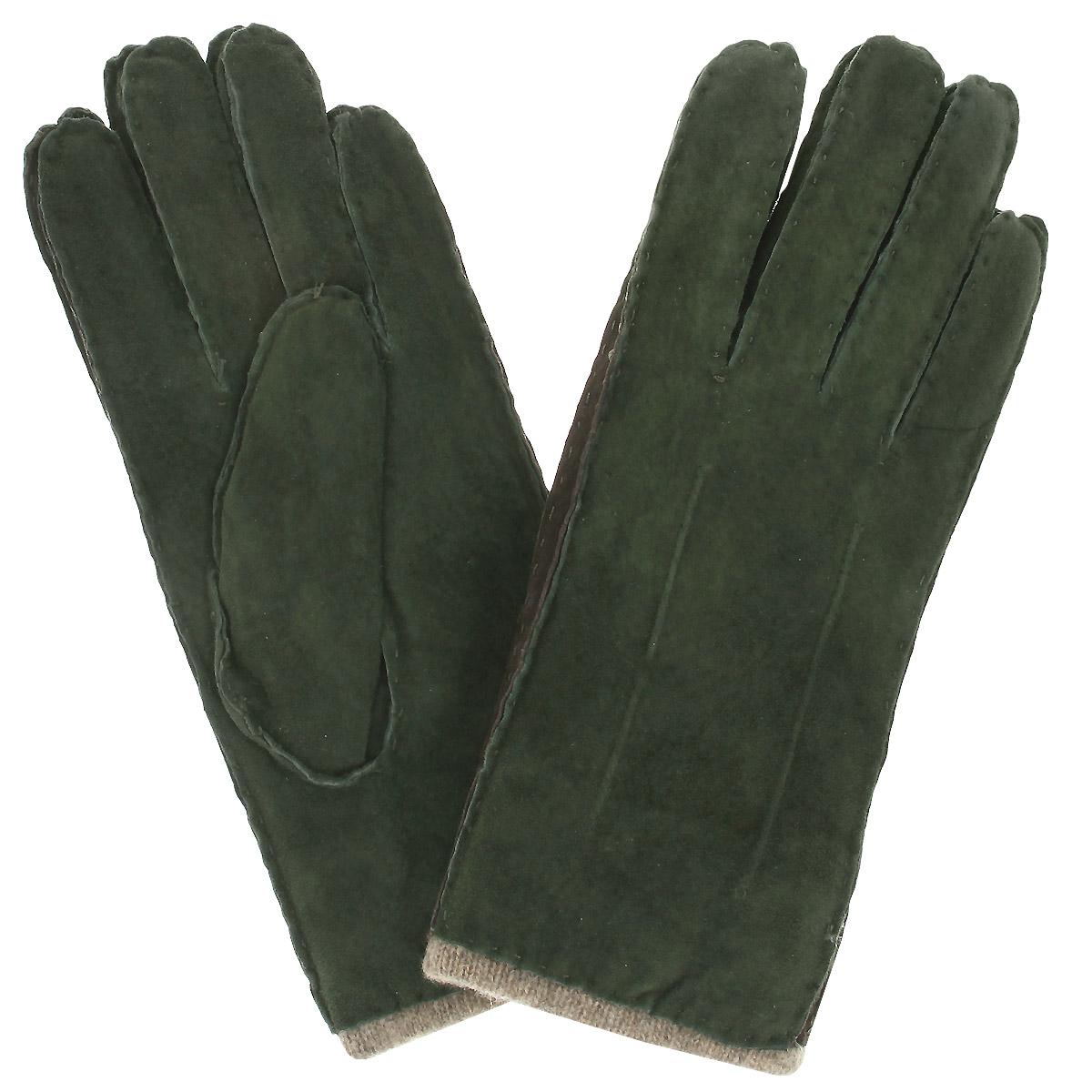 Перчатки женские. SP16_FIASP16_FIA/VERDE.BRСтильные женские перчатки Dali Exclusive с подкладкой из 100% шерсти выполнены из мягкой и приятной на ощупь натуральной замши. С лицевой стороны перчатки оформлены декоративными стежками. Такие перчатки подчеркнут ваш стиль и неповторимость и придадут всему образу нотки женственности и элегантности.