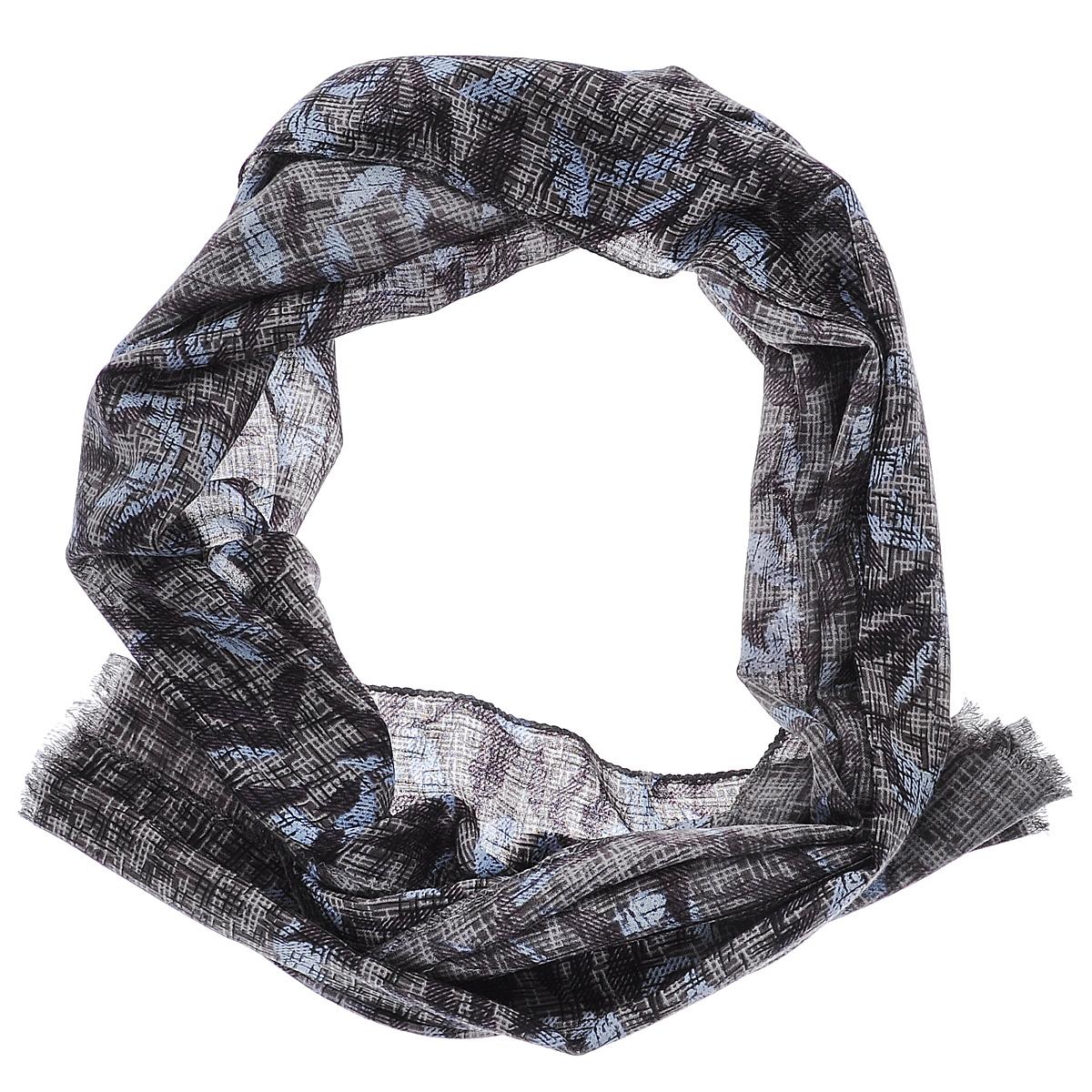 Шарф35010-11GЭлегантный женский шарф Moltini подчеркнет ваш неповторимый образ. Он выполнен из мягкой натуральной шерсти и оформлен оригинальным цветочным принтом. Края шарфа декорированы тонкой бахромой. Этот модный аксессуар женского гардероба гармонично дополнит образ современной женщины, следящей за своим имиджем и стремящейся всегда оставаться стильной и женственной.