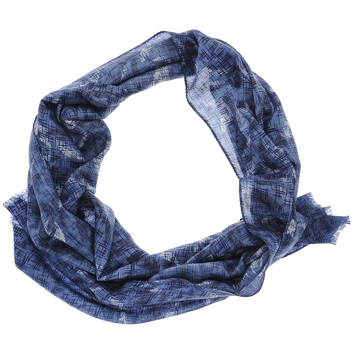Шарф женский. 35010-1135010-11GЭлегантный женский шарф Moltini подчеркнет ваш неповторимый образ. Он выполнен из мягкой натуральной шерсти и оформлен оригинальным цветочным принтом. Края шарфа декорированы тонкой бахромой. Этот модный аксессуар женского гардероба гармонично дополнит образ современной женщины, следящей за своим имиджем и стремящейся всегда оставаться стильной и женственной.
