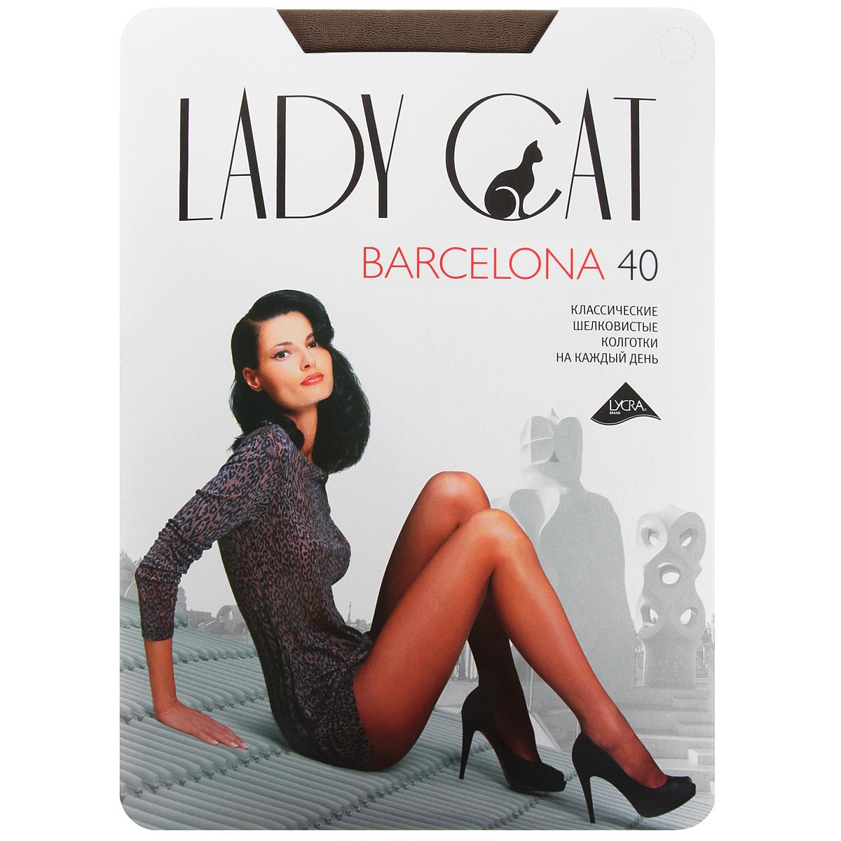 Колготки Barcelona 40Barcelona 40_Beige NatureleЭлегантные прозрачные колготки Грация Lady Cat Barcelona 40 имеют усиленный торс и уплотненный мысок. Колготки комфортно облегают и создают приятное ощущение подтянутости. 40 den. В коллекциях колготок Грация представлены модели, которые станут удачным дополнением к гардеробу любой женщины. Модели с заниженной и классической линией талии, совсем тоненькие с эффектом прохлады для жарких дней и утепленные с добавлением шерсти. Любая модница знает, что особое внимание при выборе одежки для своих ножек следует уделять фактуре изделия. В коллекции колготок Грация вы найдете и шелковистые колготки с добавлением лайкры, которые окутают ваши ножки легким мерцанием, и более строгие матовые модели. Но главная особенность колготок Грация - их практичность: они устойчивы к появлению затяжек и очень прочны. В особенно уязвимых зонах многие модели специально уплотнены, что обеспечивает дополнительную защиту.