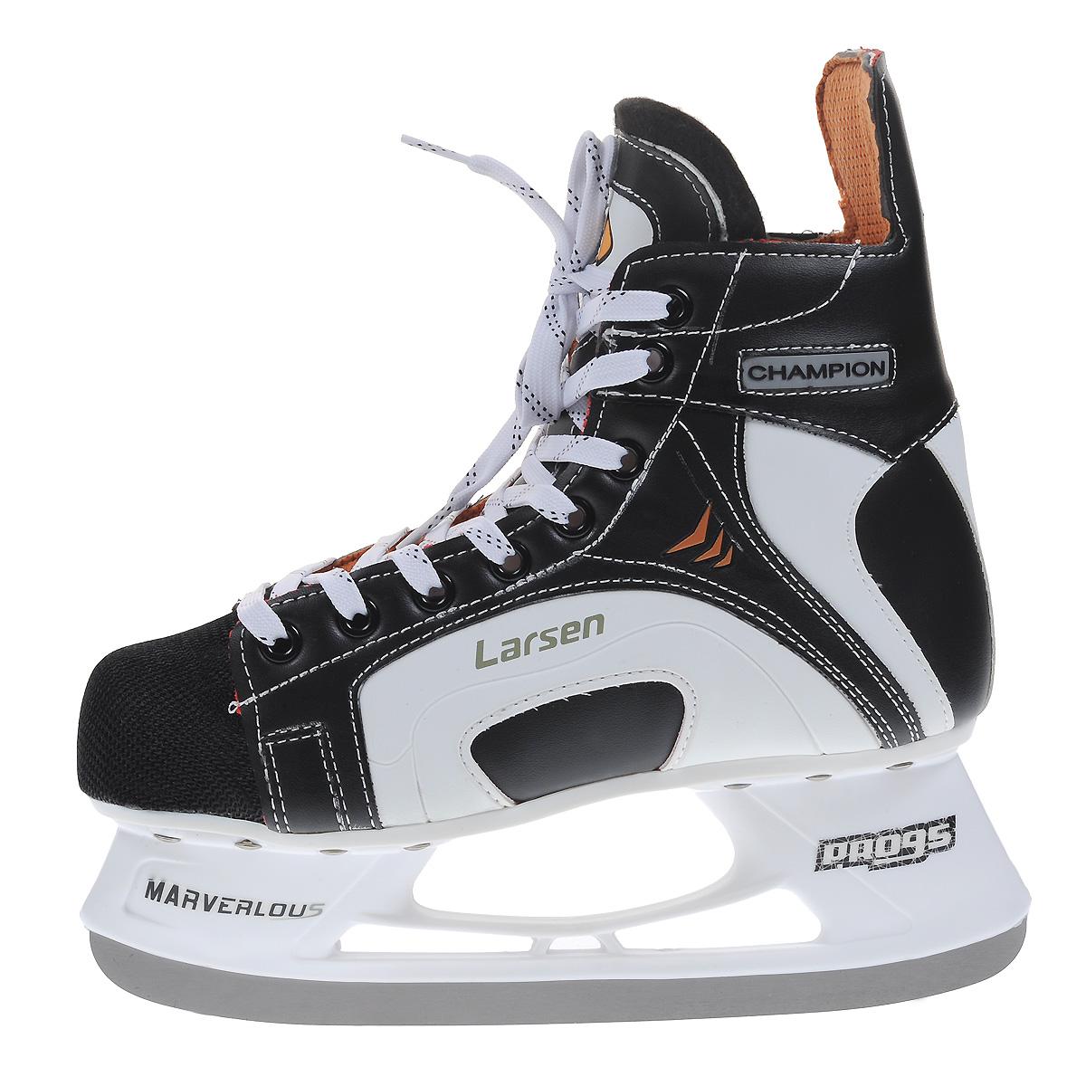 Larsen Коньки хоккейные Champion