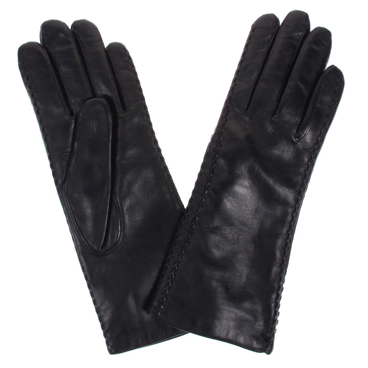 ПерчаткиDF12-257Стильные женские перчатки Bartoc не только защитят ваши руки от холода, но и станут великолепным украшением. Они выполнены из мягкой и приятной на ощупь натуральной кожи ягненка, подкладка - из шерсти. Декорирована модель оригинальной рельефной отстрочкой. Перчатки являются неотъемлемой принадлежностью одежды, вместе с этим аксессуаром вы обретаете женственность и элегантность. Они станут завершающим и подчеркивающим элементом вашего неповторимого стиля и индивидуальности.