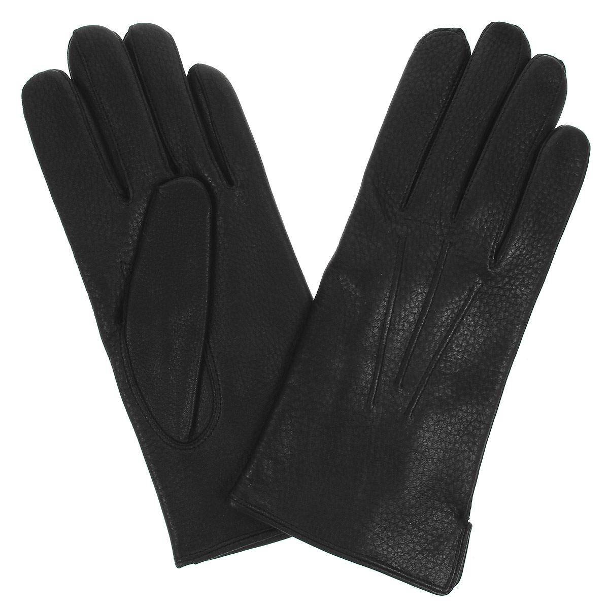 ПерчаткиDM42-234Классические мужские перчатки Bartoc не только защитят ваши руки, но и станут великолепным украшением. Они выполнены из мягкой и особо износостойкой натуральной кожи оленя, а их подкладка - из натуральной шерсти. На внешнем боку перчатки имеется небольшой разрез. Модель на лицевой стороне оформлена декоративной отстрочкой три луча. Перчатки прекрасно дополнят образ любого мужчины и сделают его более стильным, придав тонкую нотку брутальности. Создайте элегантный образ и подчеркните свою яркую индивидуальность новым аксессуаром!