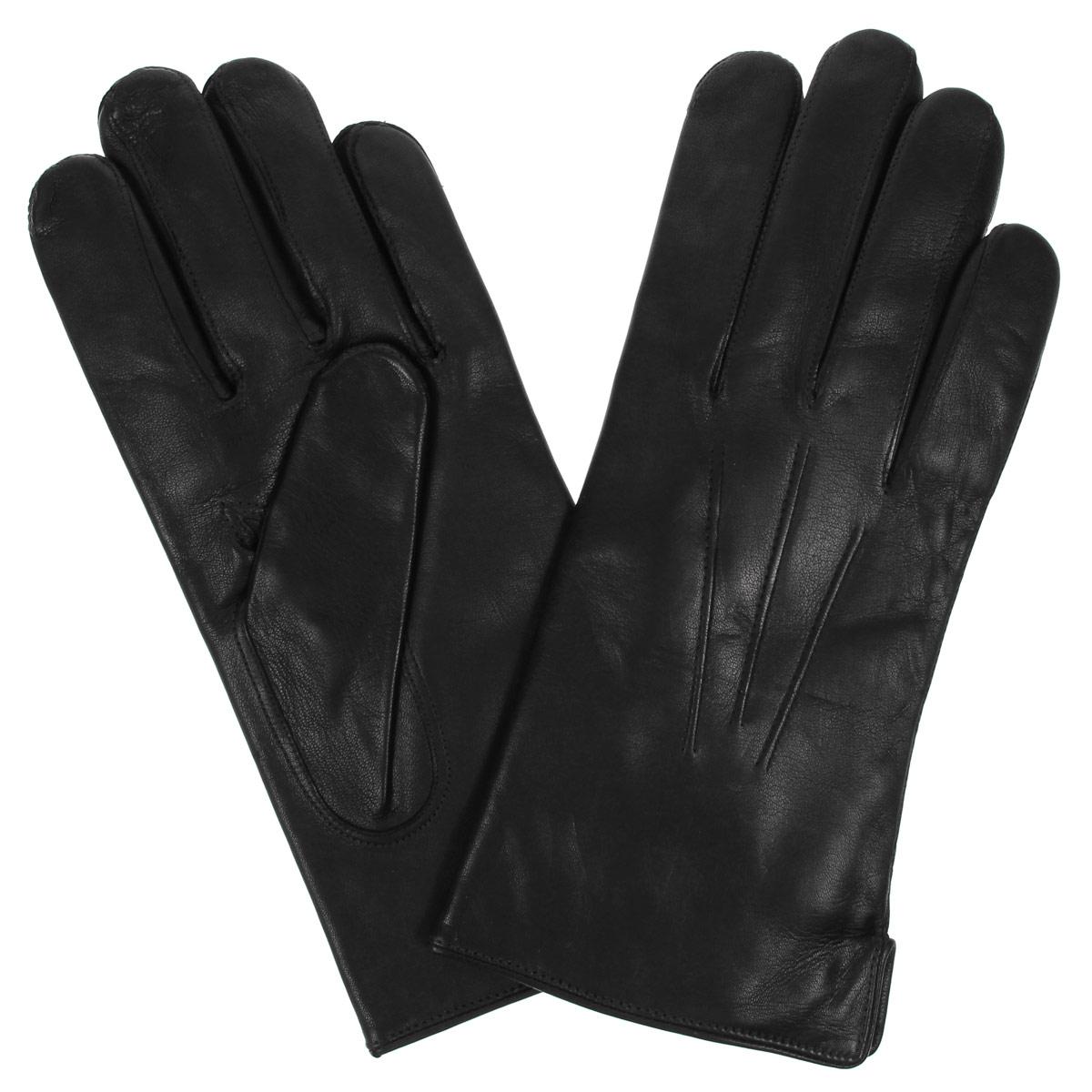 Перчатки мужские. DM12-234DM12-234Классические мужские перчатки Bartoc не только защитят ваши руки, но и станут великолепным украшением. Они выполнены из мягкой и приятной на ощупь натуральной кожи ягненка, а их подкладка - из натуральной шерсти. На внешнем боку перчатки имеется небольшой разрез. Модель на лицевой стороне оформлена декоративной отстрочкой три луча. Перчатки прекрасно дополнят образ любого мужчины и сделают его более стильным, придав тонкую нотку брутальности. Создайте элегантный образ и подчеркните свою яркую индивидуальность новым аксессуаром!