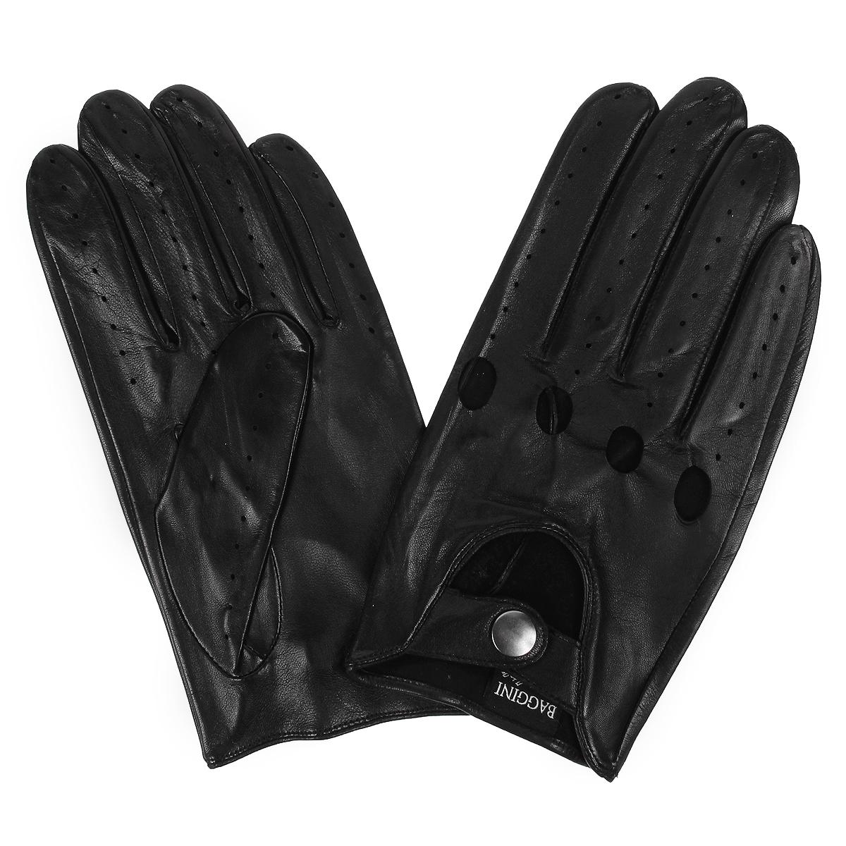 ПерчаткиA1198/10Мужские перчатки Baggini не только защитят ваши руки от холода, но и станут стильным аксессуаром. Перчатки выполнены из мягкой и приятной на ощупь натуральной кожи. Модель на лицевой стороне оформлена декоративной перфорацией. Манжеты с выемкой на лицевой стороне застегиваются при помощи хлястика на кнопку. Перчатки станут завершающим и подчеркивающим элементом вашего неповторимого стиля и индивидуальности.