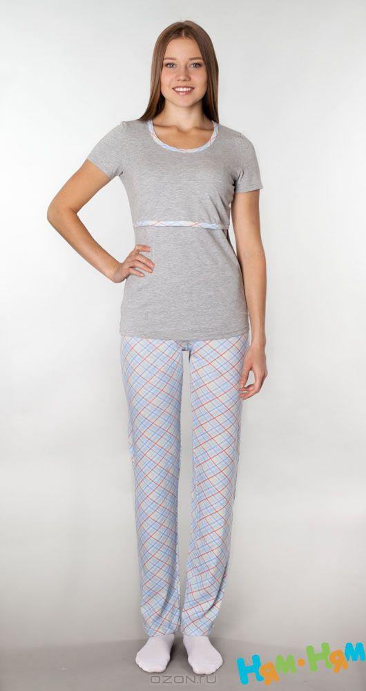 Брюки501.2Очень удобные домашние брюки для беременных и кормящих мам Ням-Ням прямого покроя с эластичной резинкой под живот и удобной средней посадкой изготовлены из натурального хлопка. Отлично сочетаются с домашней футболкой с секретом кормления арт. 217.1. Оформлены брюки принтом в клетку. Одежда, изготовленная из хлопка, приятна к телу, сохраняет тепло в холодное время года и дарит прохладу в теплое, позволяет коже дышать.