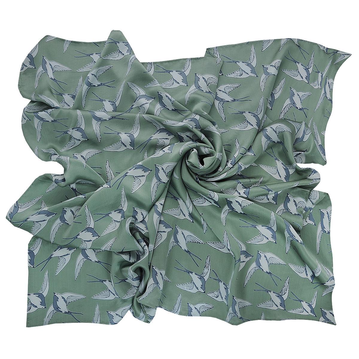 ПлатокSS-DOVEЭлегантный шелковый платок Michel Katana станет изысканным нарядным аксессуаром, который призван подчеркнуть индивидуальность и очарование женщины.