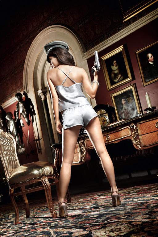 Baci Lingerie Пижама женская Agent Of Love: майка, шорты. BL893